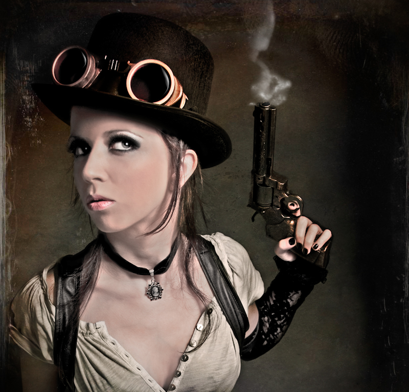 Lady Mechanika by Raquel Jaramago - InFashion Blogzine & Magazine