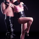 Editorial Latex for two by Garci