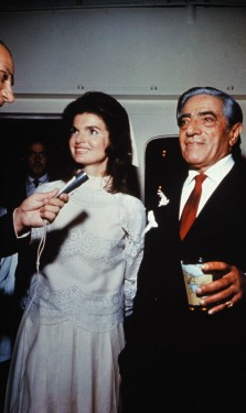 Aristotle and Jacqueline Onassis at Their Reception